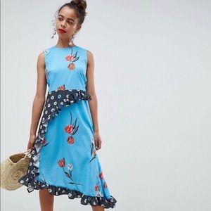 ASOS DESIGN Petite Sleeveless Midi Dress